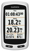 Garmin - Edge Touring Plus GPS-Enabled Cycling Monitor - White