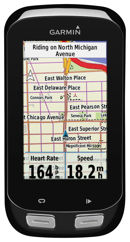 Garmin - Edge 1000 GPS-Enabled Cycling Monitor - Black
