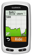 Garmin - Edge Touring GPS-Enabled Cycling Monitor - White