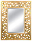Lofty - Ardant Framed Mirror - Champagne Gold