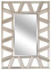 Lofty - Ardant Diamond Silver Framed Mirror - Diamond Silver