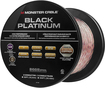 Monster - Black Platinum XP Clear Jacket 50' In-Wall Compact Speaker Cable - Clear/Copper