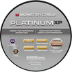 Monster - Platinum XP Clear Jacket MKIII 100' Compact Speaker Cable - White