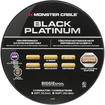 Monster - Black Platinum XP Clear Jacket 100' In-Wall Compact Speaker Cable - Clear/Copper