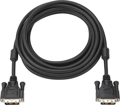 Dynex™ - 12' DVI-D-to-DVI-D Cable