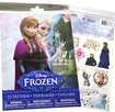 Savvi - Disney Frozen Temporary Tattoos (25-Count) - Blue/Pink/White