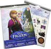 Savvi - Disney Frozen Temporary Tattoos (50-Count) - Blue/Pink/White