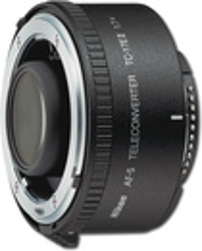 Nikon - AF-S Teleconverter TC-17E II 1.7x Extender Lens - Black
