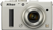 Nikon - Coolpix A 16.2-Megapixel Digital Camera - Silver