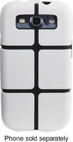 SYSTM by Incase - Chisel Case for Samsung Galaxy S III Cell Phones - White/Black
