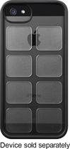 SYSTM by Incase - Cartridge Case for Apple® iPhone® 5 and 5s - Black/Clear