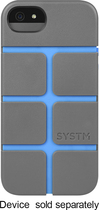 SYSTM by Incase - Chisel Case for Apple® iPhone® 5 and 5s - Black/Blue