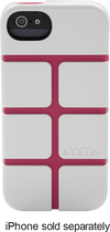 SYSTM by Incase - Chisel Case for Apple® iPhone® 5 and 5s - White/Pink