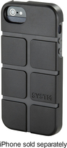 SYSTM by Incase - Chisel Case for Apple® iPhone® 5 and 5s - Black/Asphalt