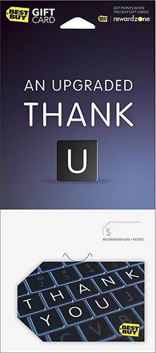 BestBuyGC - $30 Upgraded Thank U Gift Card - Multi