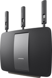 Linksys - AC3200 802.11b/g/n/ac Smart Gigabit Wi-Fi Router - Black