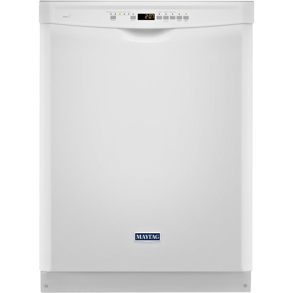 Maytag - 24 Built-In Dishwasher - White