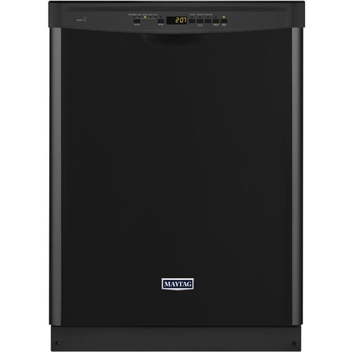 Maytag - 24 Built-In Dishwasher - Black