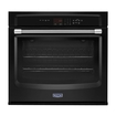 """Maytag - 30"""" Built-in Single Electric Wall Oven - Black"""