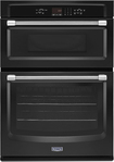 """Maytag - 30"""" Built-in Double Electric Wall Oven - Black"""