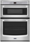 """Maytag - 30"""" Built-in Double Electric Wall Oven - Stainless Steel"""