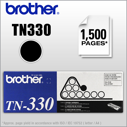 Brother - TN330 Toner Cartridge - Black