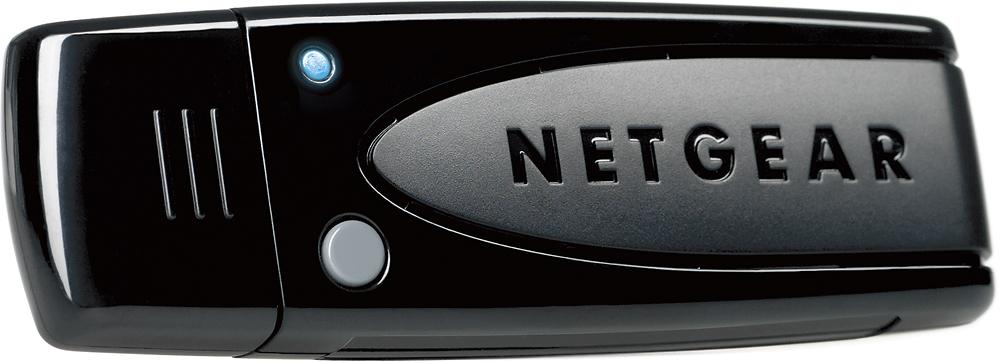 Netgear - RangeMax IEEE 802.11n USB - Wi-Fi Adapter - Black