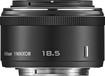 Nikon - 1 NIKKOR 18.5mm f/1.8 Standard Lens for Most Nikon 1 Digital Cameras - Black