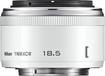 Nikon - 1 NIKKOR 18.5mm f/1.8 Standard Lens for Most Nikon 1 Digital Cameras - White
