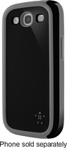 Belkin - Grip Max Case for Samsung Galaxy S III Cell Phones - Black/Gray