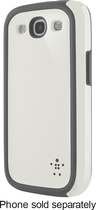 Belkin - Grip Max Case for Samsung Galaxy S III Cell Phones - Gray/White