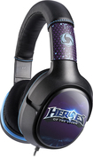 Turtle Beach - Heroes of the Storm Over-the-Ear Gaming Headset - Black