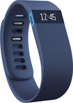 Fitbit - Charge Wireless Activity Tracker + Sleep Wristband (Large) - Blue