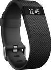 Fitbit - Charge HR Heart Rate and Activity Tracker + Sleep Wristband (Large) - Black
