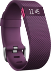 Fitbit - Charge HR Heart Rate and Activity Tracker + Sleep Wristband (Large) - Plum