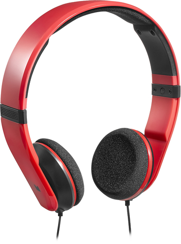 Modal MD-HPOE01-R On-Ear Headphones Red