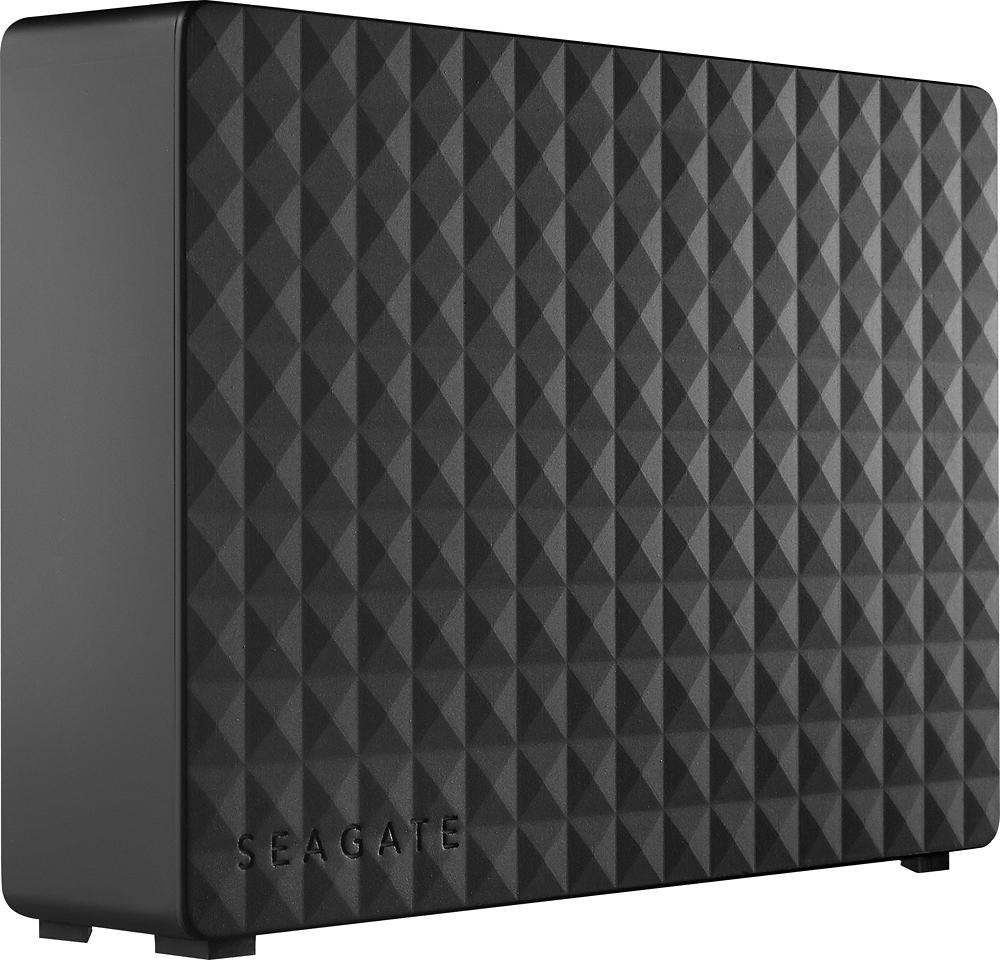 Seagate - Expansion 4TB External USB 3.0/2.0 Hard Drive - Black