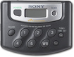 Sony - Portable Digital AM/FM Radio with Weather Band - Black