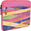 M-Edge - Printed Laptop Sleeve - Pink/Yellow/Blue