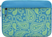 M-Edge - Printed Laptop Sleeve - Aqua/Light Green