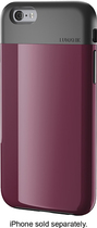 LUNATIK - FLAK Skin Case for Apple® iPhone® 6 - Dark Raspberry