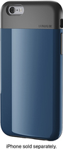 LUNATIK - FLAK Skin Case for Apple® iPhone® 6 - Dark Blue