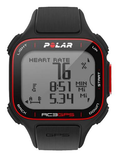 Polar - RC3 GPS Sports Watch - Black