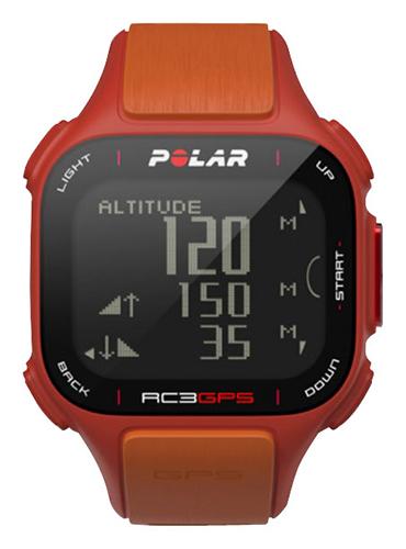 Polar - RC3 GPS Sports Watch - Red/Orange