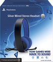 Sony - Wired Stereo Headset for PlayStation 4, PlayStation 3 and PS Vita - Silver