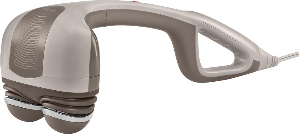 Homedics - Percussion Action Handheld Massager - Gray 8701003