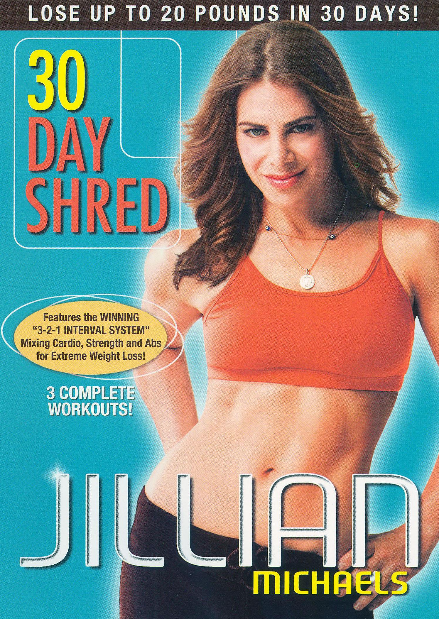 Jillian Michaels: 30 Day Shred (dvd) 8707731