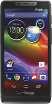 Verizon Wireless Prepaid - Motorola Luge 4G LTE No-Contract Cell Phone - Black