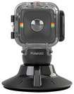 Polaroid - Waterproof Case and Suction Mount for Polaroid CUBE C3 Action Cameras
