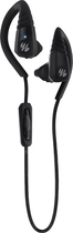 Yurbuds - Liberty Wireless Behind-the-Ear Clip-On Headphones - Black